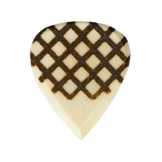Grip Tones Mini Buffalo Bone 1 Guitar Pick
